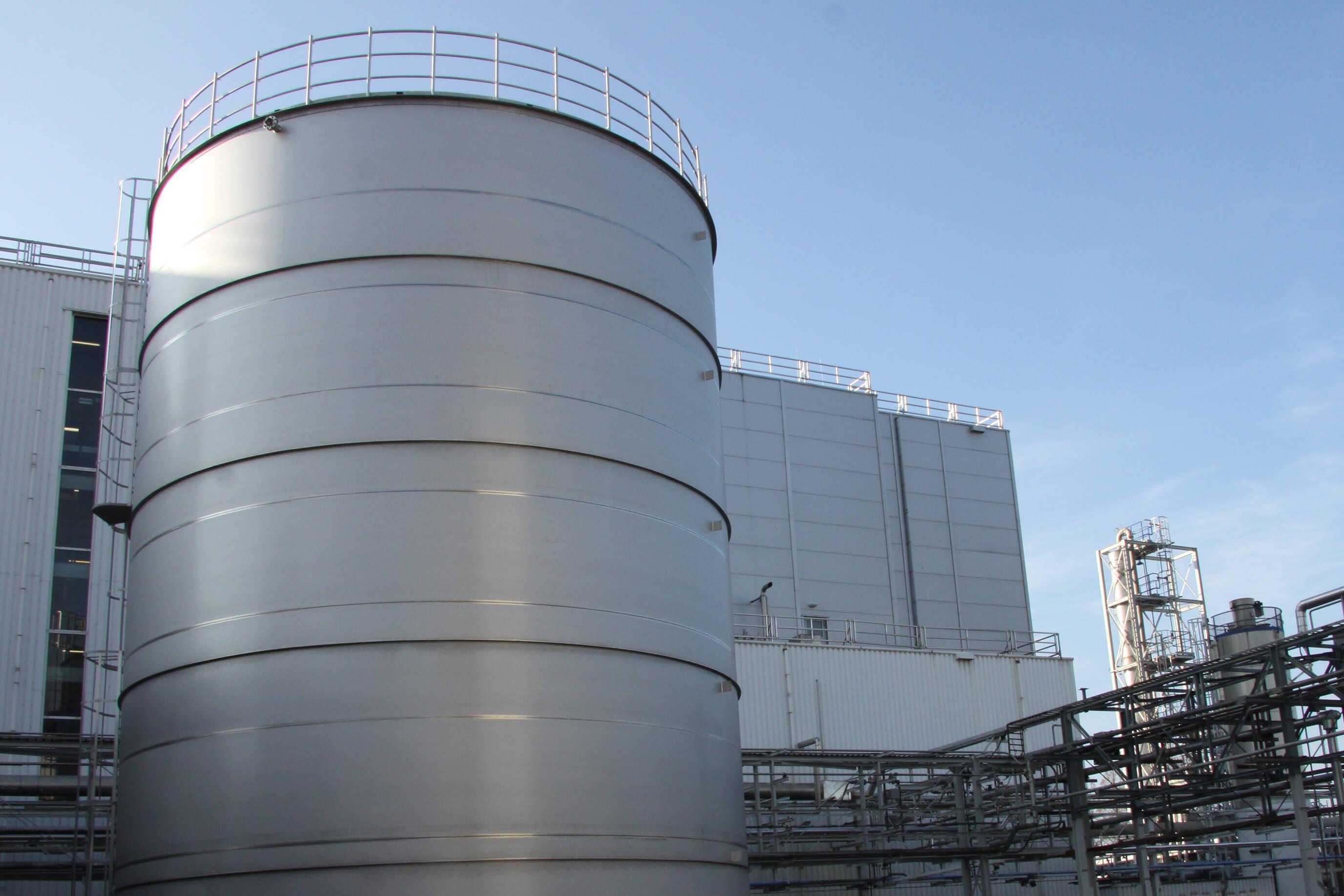 XL tank construction according to EN14015 and PGS 29