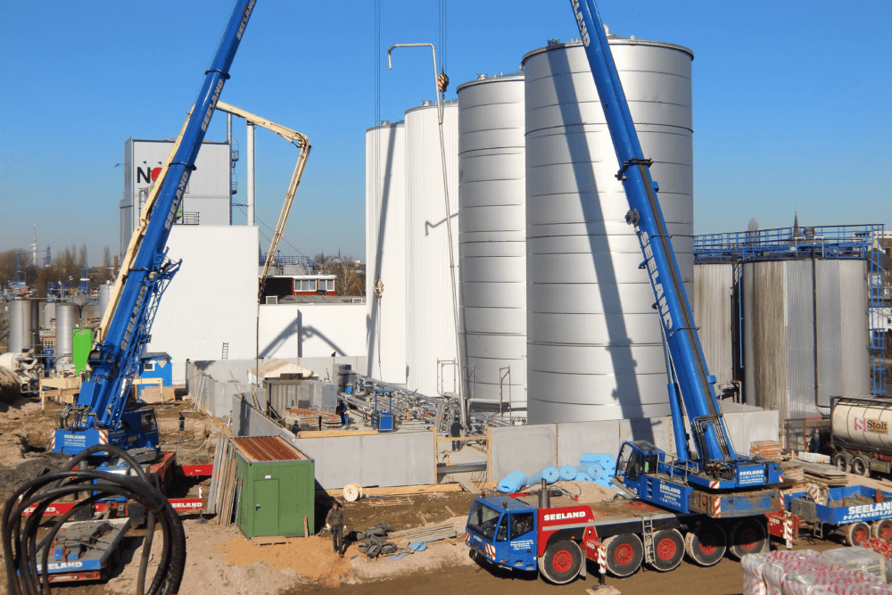 Rvs tankbouw